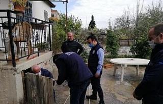 MASKİ Daire Başkanı sahaya indi