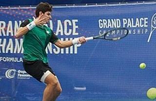 Milli tenisçi Rusya'da birinci oldu