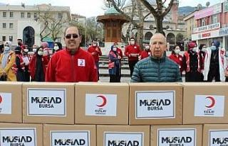 MÜSİAD Bursa'dan Ramazan öncesi öncü destek