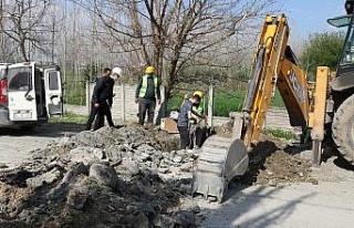 Sakarya Ahmediye Mahallesi'nin içme suyu altyapısı...