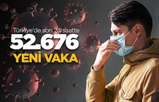 Son 24 saatte 52.676 yeni vaka!