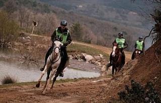Tabiat Atlı Dayanıklılık Yarışları Kestel'de...