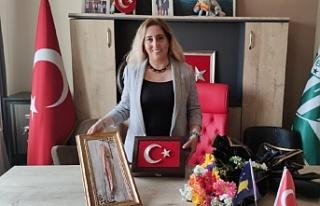 TDP Kadın Kolları Genel Başkanı Bursa'ya...
