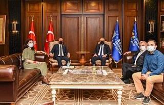 TSYD Bursa Şubesi'nden Başkan Alinur Aktaş'a...
