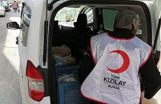 Türk Kızılayı'nın 'Hilal Sofrası'...