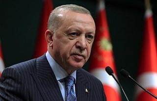 Cumhurbaşkanı Erdoğan tek tek açıkladı...