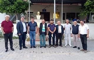 Bursa Mudanya'da İYİ Parti'den kırsal temaslara...