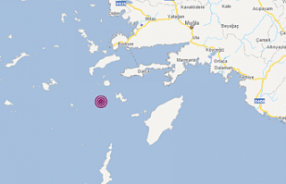 Datça'da şiddetli deprem
