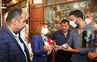 Gaziantep'te Başkan Şahin'e teveccüh