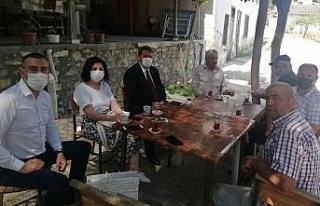 Manisa'da Sarıçam'a çifte ziyaret