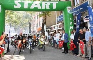 Bursa İznik'te Süper Enduro heyecanı