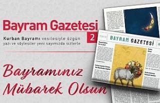 Diyanet Bayram Gazetesi'nin ikinci sayısı yayımlandı