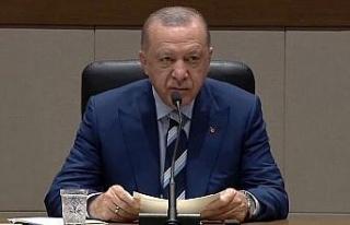 """Erdoğan: """"KKTC'de çifte bayram yaşayacağız"""""""