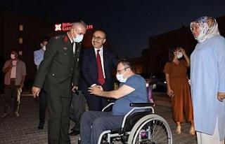 Mardin'de 15 Temmuz Gazisi'nden tepki