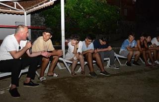 """Başkan Sertaslan'dan gençlere öğüt: """"iyi..."""