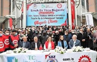 İzmit Belediyesi'nden maaşı düşen işçilerine...