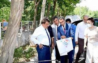 Malatya'da Başkan Gürkan'dan Horata Mesire Alanı'na...