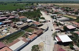 Manisa Karayahşi'de üstyapı da tamamlandı