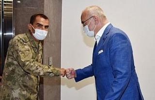 Manisa'da Tugay Komutanı'ndan Başkan Ergün'e...