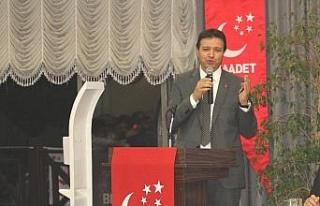 Saadet Partisi Kayseri'de üye açılımı