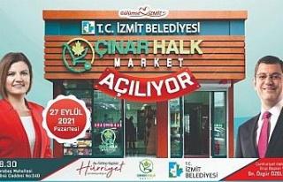 Başkan Hürriyet ve CHP'li Özel Çınar Halk...