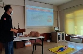 Bursa'da AKUB eğitimleri sürüyor