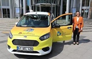 Kocaeli İzmit'te 'Anne Taksi' hizmeti