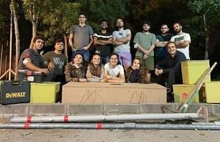 KOÜ'nün roket takımlarına Büyükşehir'den...