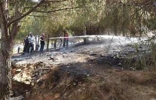 Manisa Gölmarmara'da orman yangını söndürüldü