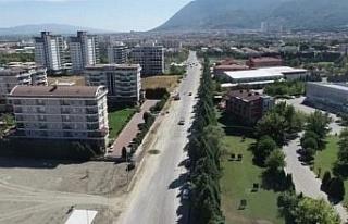 Manisa  prestij bir caddeye daha sahip oluyor