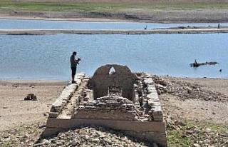Muğla'da su veren baraj kurudu!
