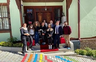 Erasmus Plus projesinin ilk toplantısı İzmit'te...