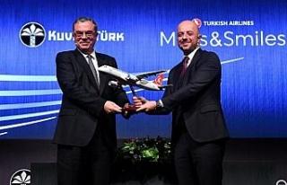 Kuveyt Türk ve Türk Hava Yolları'ndan güç...