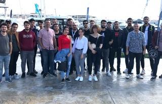 Öğrenciler Boat Show Fuarını Gezdi