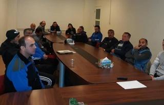Belediyespor'da İstişare Toplantısı