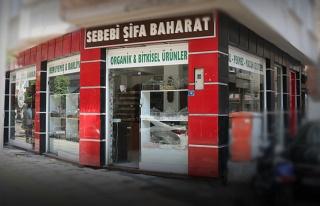 Sebebi Şifa Baharat Eski Pazar Caddesinde Açıldı