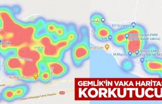 Gemlik'in Vaka Haritası Korkutucu.!