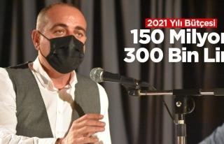 Gemlik Belediyesi bütçesi 150 milyon 300 bin lira