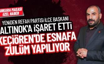 """Yeniden Refah: """"Ankara Keçiören'in en büyük problemi trafik!"""""""