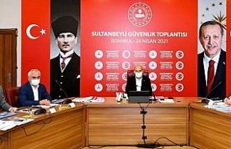 İstanbul Sultanbeyli'de güvenlik toplantısı