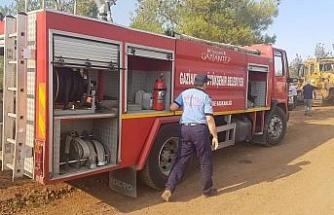 Gaziantep İtfaiyesi'nden yangın bölgelerine destek
