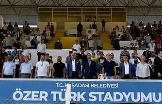 Aydın'da Özer Türk Stadı'na tam not