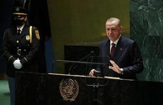 Erdoğan, Birleşmiş Milletler'den seslendi