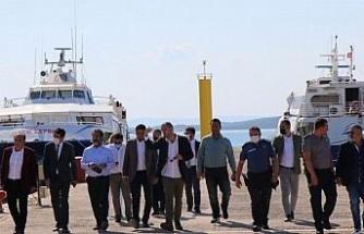 İzmir'de Aliağa-Midilli seferi hazırlığı