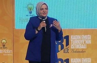 Bursa'da 'Kadın Emeği Türkiye'nin İstikbali' buluşması