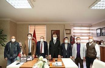 Başkan Yüce'den ASKF'ye tebrik ziyareti