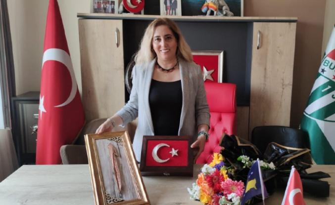 TDP Kadın Kolları Genel Başkanı Bursa'ya geldi