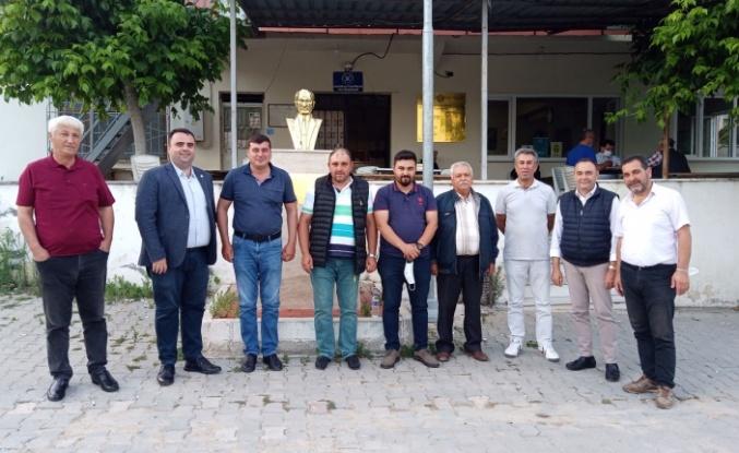 Bursa Mudanya'da İYİ Parti'den kırsal temaslara devam