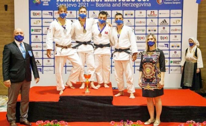 Kocaelili Judocular Avrupa'dan başarıyla döndüler