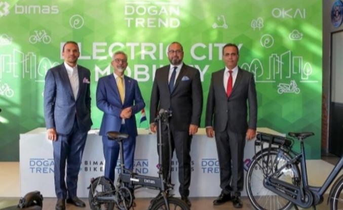 Doğan Trend'den elektrikli bisiklet atağı